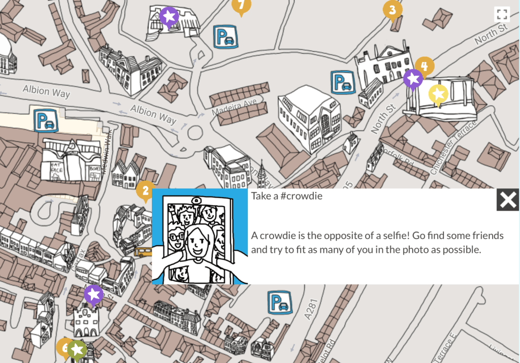 sprung digi illustrated map