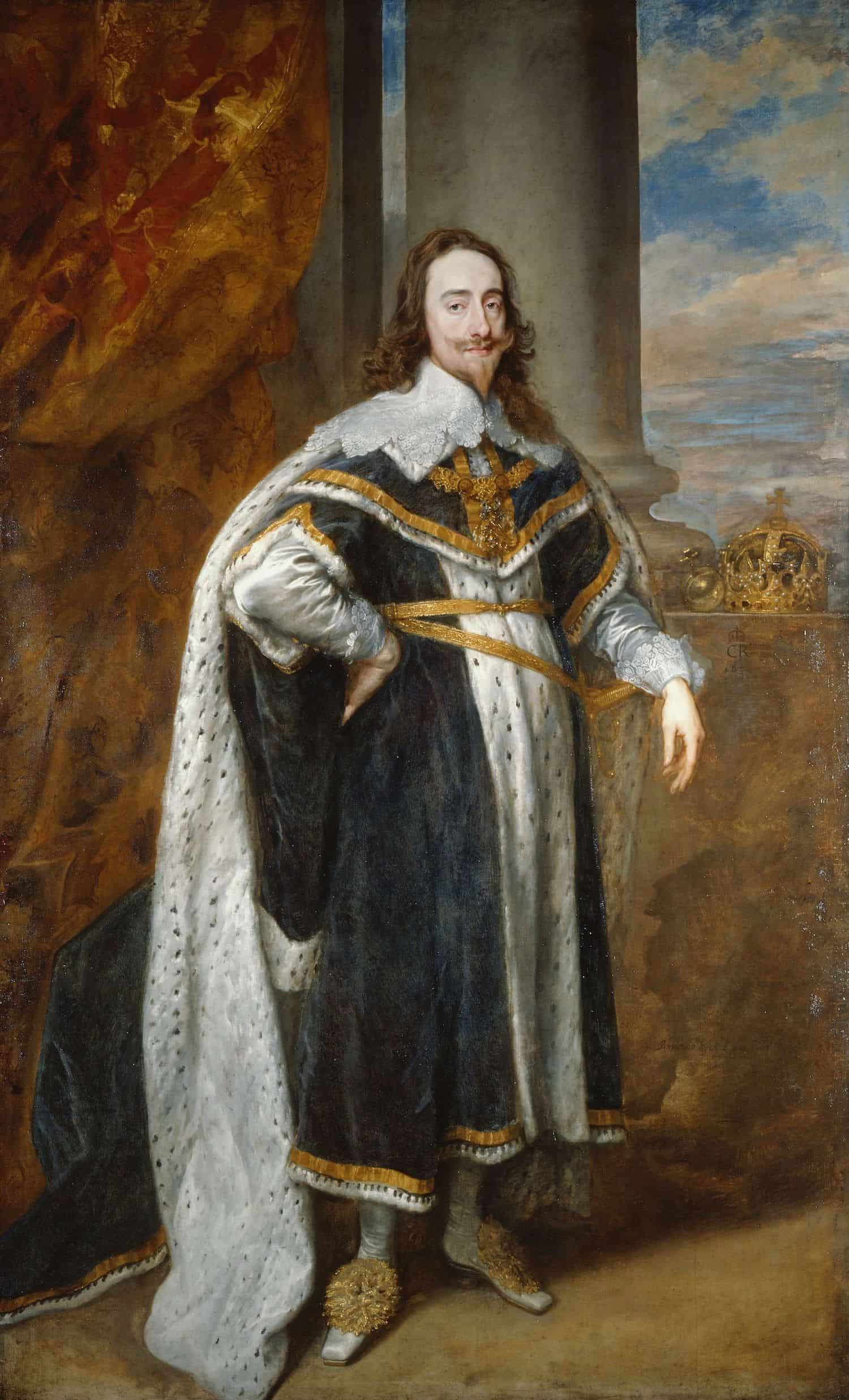 State portrait of Charles I