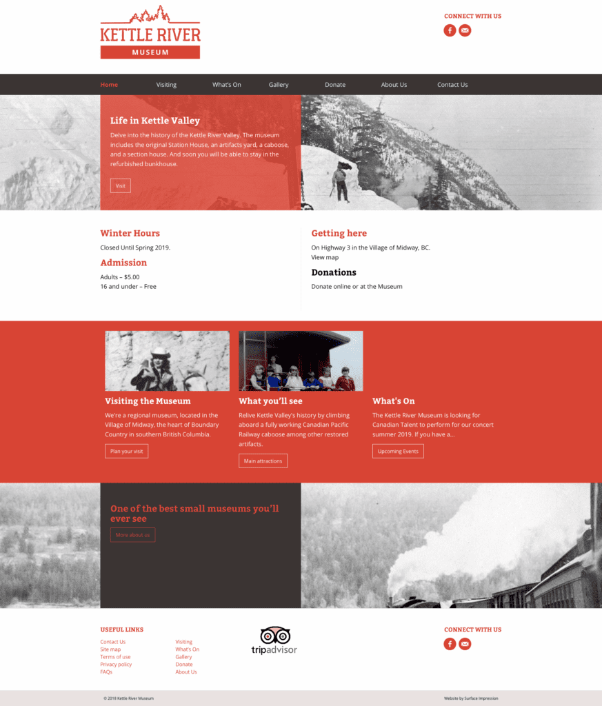 Kettle Museum Home Page